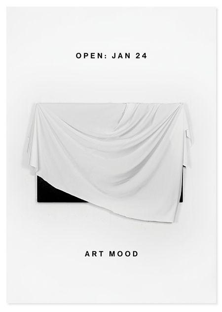Identity for Art Mood, a joint venture between the nine contemporary art galleries Peter Bergman, Nordenhake, Stene Projects, Galleri Magnus Karlsson, Lars Bohman Gallery, Anna Thulin, Galleri Flach, Galleri Kleerup and Björkholmen Gallery. Januari 2013