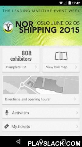 Nor-Shipping 2015  Android App - playslack.com , The Nor-Shipping app is the official mobile app for Nor-Shipping 2015. It will help you get the most out of the exhibition, as well as keep you updated on all the conferences and social events.You can make your own exhibitor notes and plan your personal route throughout the venue, visiting all your favorite exhibitors. If there are any changes in the schedule, the app will notify you. And don't forget to keep up with what's happening at…