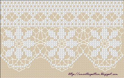 Lace like cross stitch
