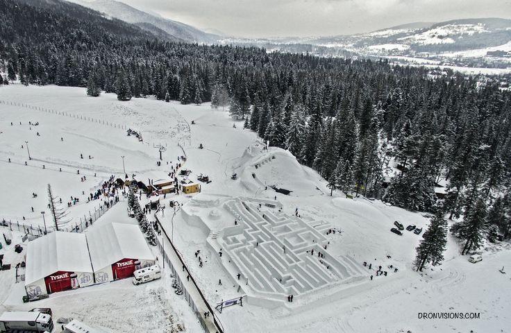 Snowlandia - największy na świecie śnieżny labirynt w Zakopanem.
