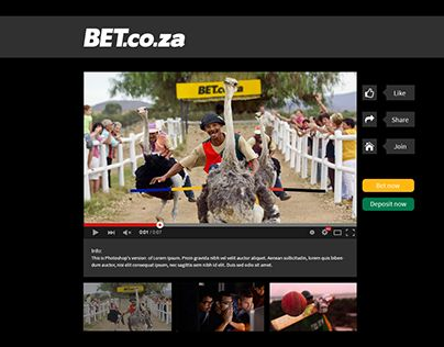 """Check out new work on my @Behance portfolio: """"BET.co.za Interactive Ad Campaign - Celebrity Betmatch"""" http://on.be.net/1KmCA1V"""