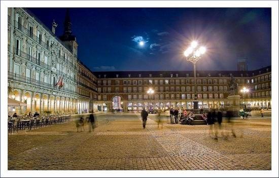 La Plaza Mayor, Madrid, Spain