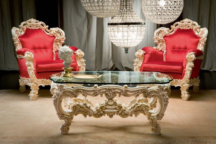 Style Of Orfeo Armchairs and Glass Coffee Table by Silik Photos - Awesome Baroque sofa Set Amazing