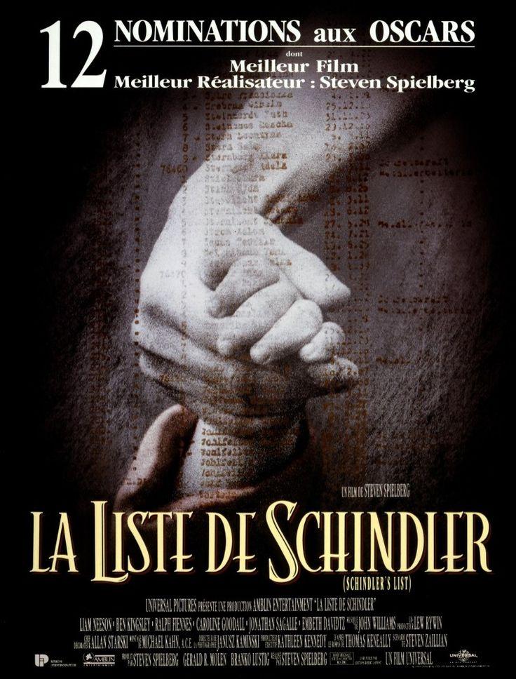La Liste de Schindler - Excellent. Un film qui doit être vu par toutes les générations. :) Did  G ...