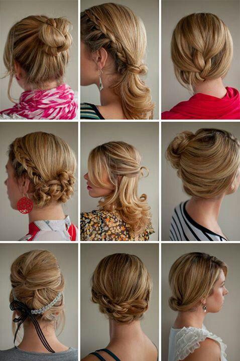 Romance hair style