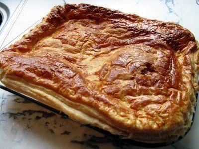 Scottish steak pie... WITH sausages!