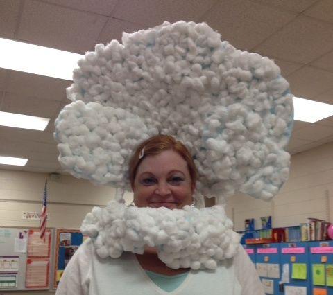 Head in the Clouds idiom costume