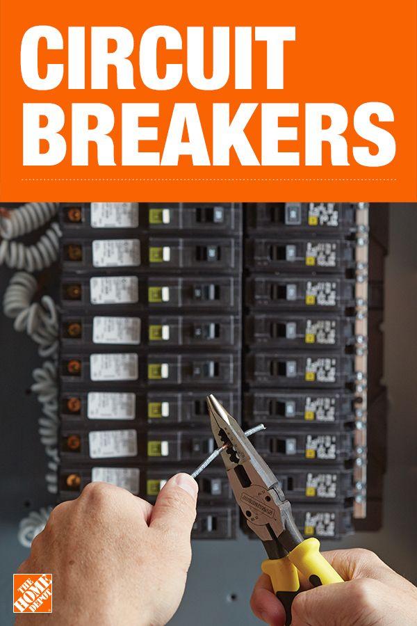 Circuit Breakers Home Electrical Wiring Diy Home Repair Diy Electrical