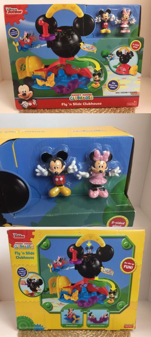 Mickey 19219: Mickey Mouse Clubhouse Kid Toy Fisher Price Disney Pal Minnie Figure Fly N Slide -> BUY IT NOW ONLY: $35 on eBay!