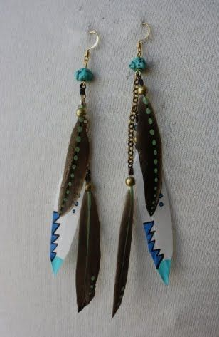 59 best jewelry feathers images on Pinterest