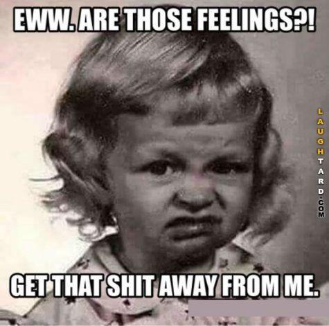 feelings can spread like wildfire, gotta be careful!