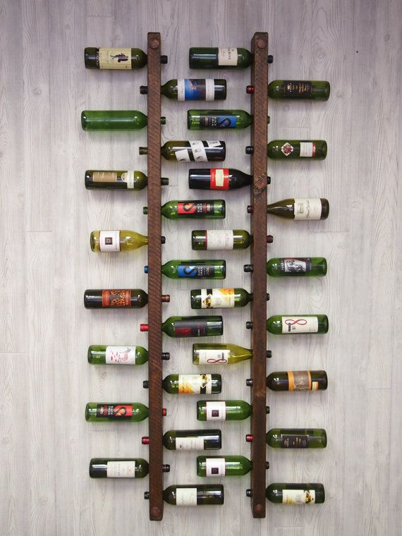 Tuscan Wine Rack 16 Bottle Ladders - Set of 2