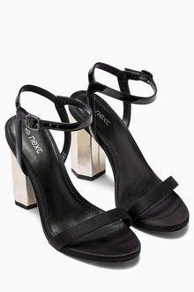 Next Feature Heel Glam Sandals