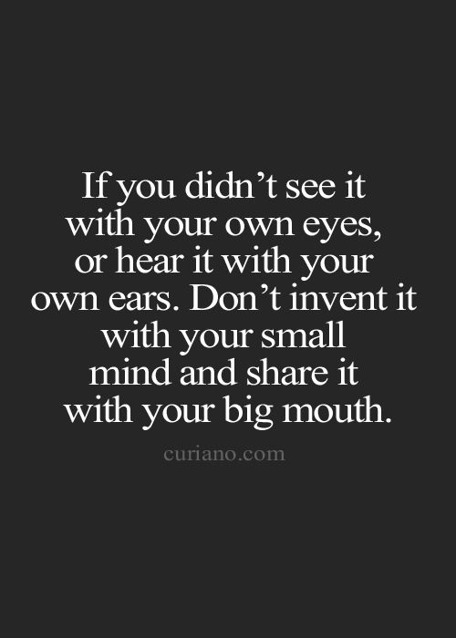 Quotes For Gossipers At Work: Best 25+ Big Mouth Quotes Ideas On Pinterest