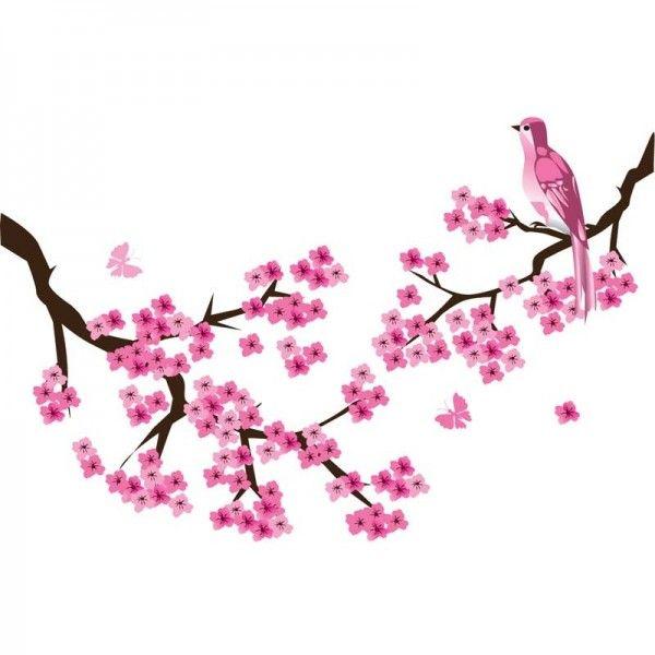 De muursticker roze bloesemtak DecoDeco- Kan op vrijwelalle vlakke ondergronden geplakt worden.- De stickers kunnen afgenomen worden met een vochtige doek.- Bij elke bestelling wordt een duidelijke plakinstructie meegeleverd.- Afmetingen: 110 x 70 cm (b x h).