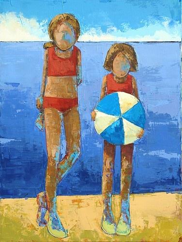 """""""Bikini No.5""""  Oil On Canvas  48 x 36  $5,400"""
