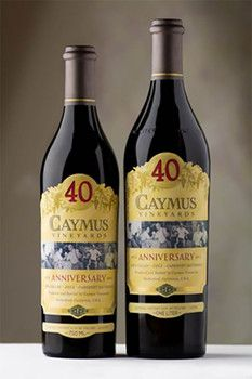 Get a sneak peek at the 40th anniversary cabernet release from Caymus Vineyards.
