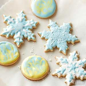 Leave it to these classic sugar cookies to make your holiday season special. Not only are they quick and easy, but they're perfect for decorating to match any event./
