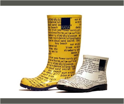 Rubber boots made in Finland! Ratia