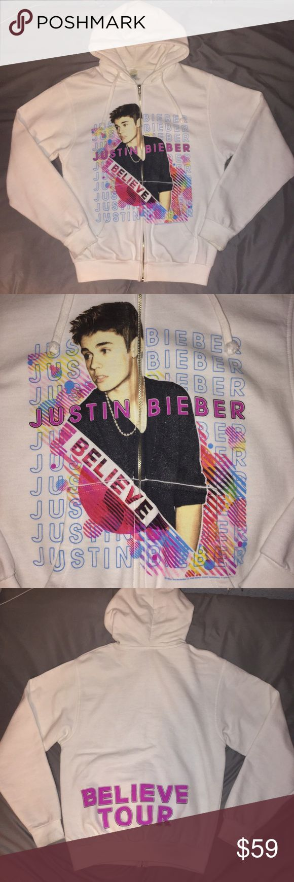 Justin Bieber believe tour hoodie I'm selling this cheaper on the ⓂⒺⓇⒸⒶⓇⒾ app / good condition / trades not accepted / offers are welcome Jackets & Coats