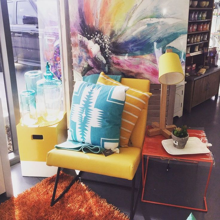 Brightening up this cold weather!! Our new yellow rocking chair is the perfect addition to brighten up a nursery! @dcb_designs #homewares #brights #home #interiors #furniture #newstock #wallart #canvas #rocker #rockingchair #chair #dcbdesigns #sidetable #nursery #nurserychair