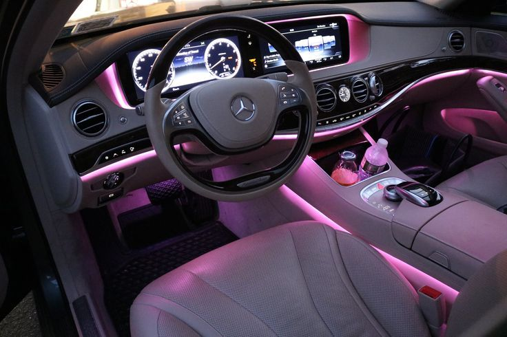 Mercedes Sclass Luxury Car Interior Girly Car Accessories Dream Cars