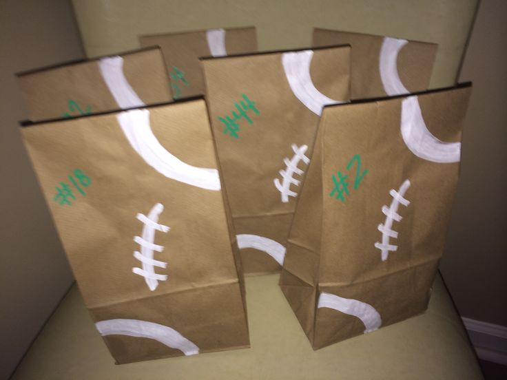 Football Goodie Bags