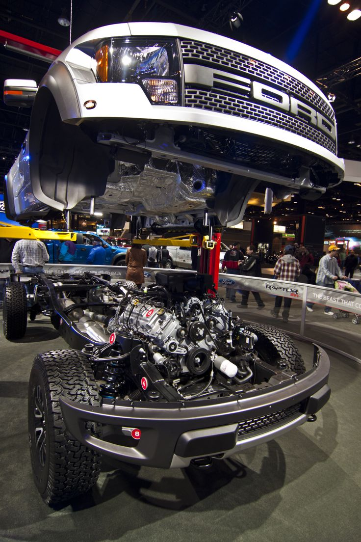 Ford Raptor assembly line