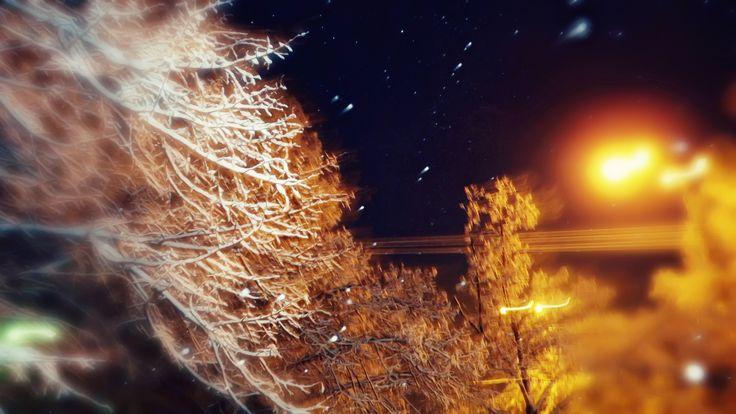 #evening , #winter, #snow