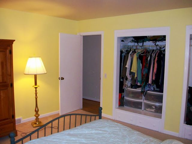 Painting Master Bedroom Buttercup Yellow After 3
