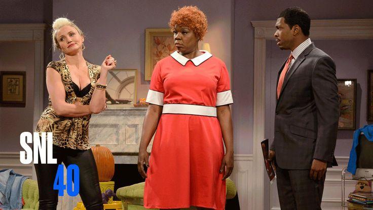 New Annie - Saturday Night Live   SNL  with Cameron Diaz and Jamie Foxx   February  2015