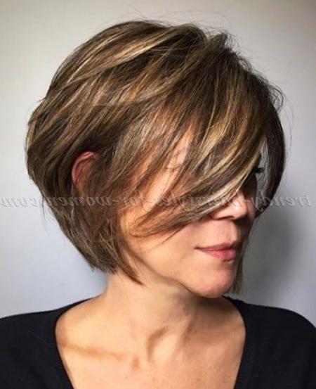18 kurze Bob Haarschnitte für ältere Frauen