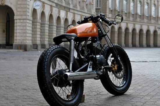 The very essence of, Cafe... may be a 125cc???