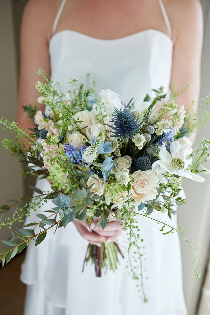 Wedding Ideas By Colour Blue Flowers