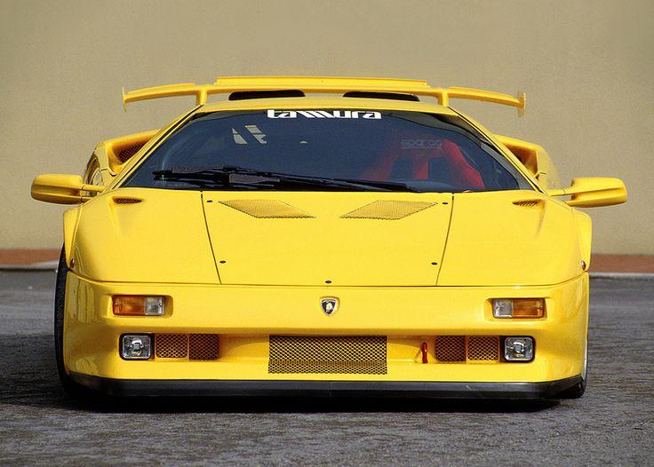 Marvelous 1995 Lamborghini Diablo Jota R   Yellow Car Pictures