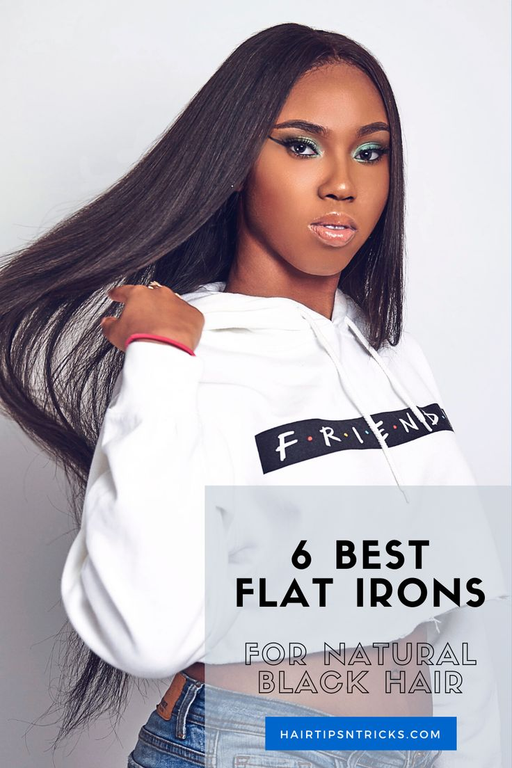 6 Best Flat Irons For Natural Black Hair & What To