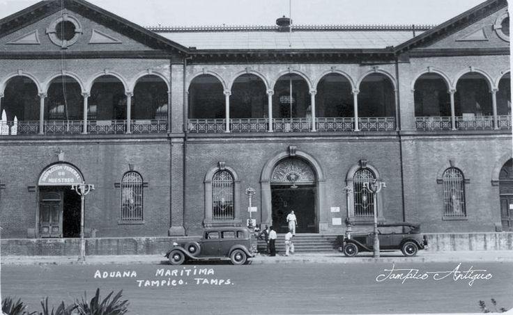 Aduana de Tampico Estilo Ingles Industrial.