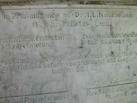 Ludwig Ingwer Nommensen, Monument Salib Kasih Indonesia