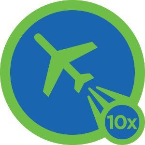 Jetsetter Badge