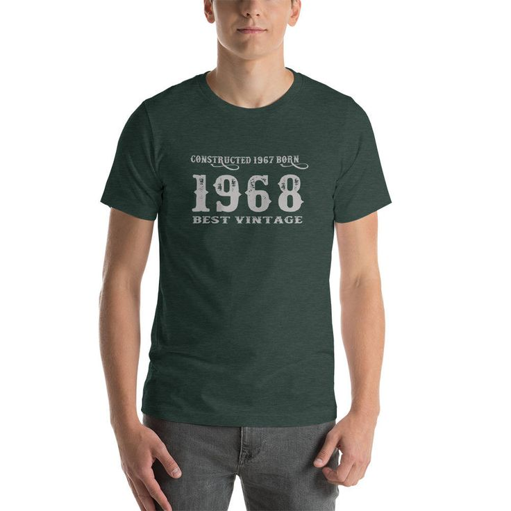 Produced 1967 Born 1968 T-Shirt Best Vintage 50 year old Tshirt womens and mens Tee 50 Bday Celebration Shirt #BdayGift T-Shirt Proud of Age http://etsy.me/2FaVgoU #clothing #shirt #produced1967 #born1968 #bestvintage #giftforfifties #birthdaygift #50anniversary