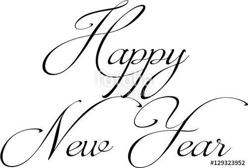 Vettoriale: Happy New year