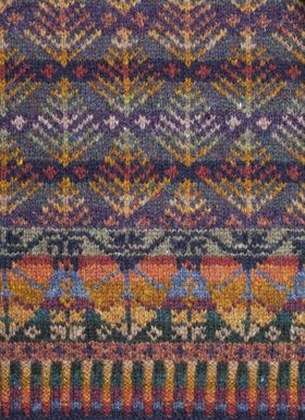 Oregon Autumn. Alice & Jade Starmore www.virtualyarns.com Fair Isle Knitting sweaters stranded