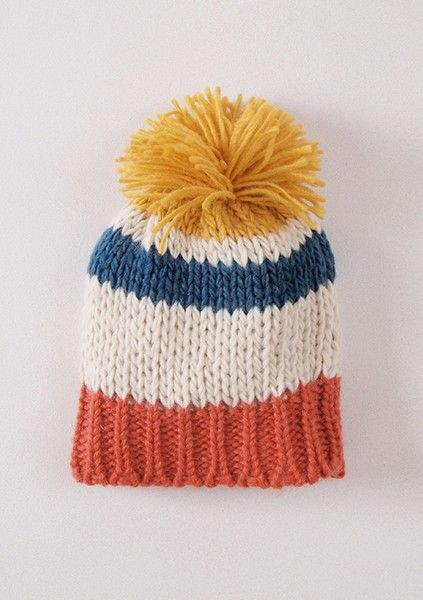 bobo choses Knitted Striped Hat