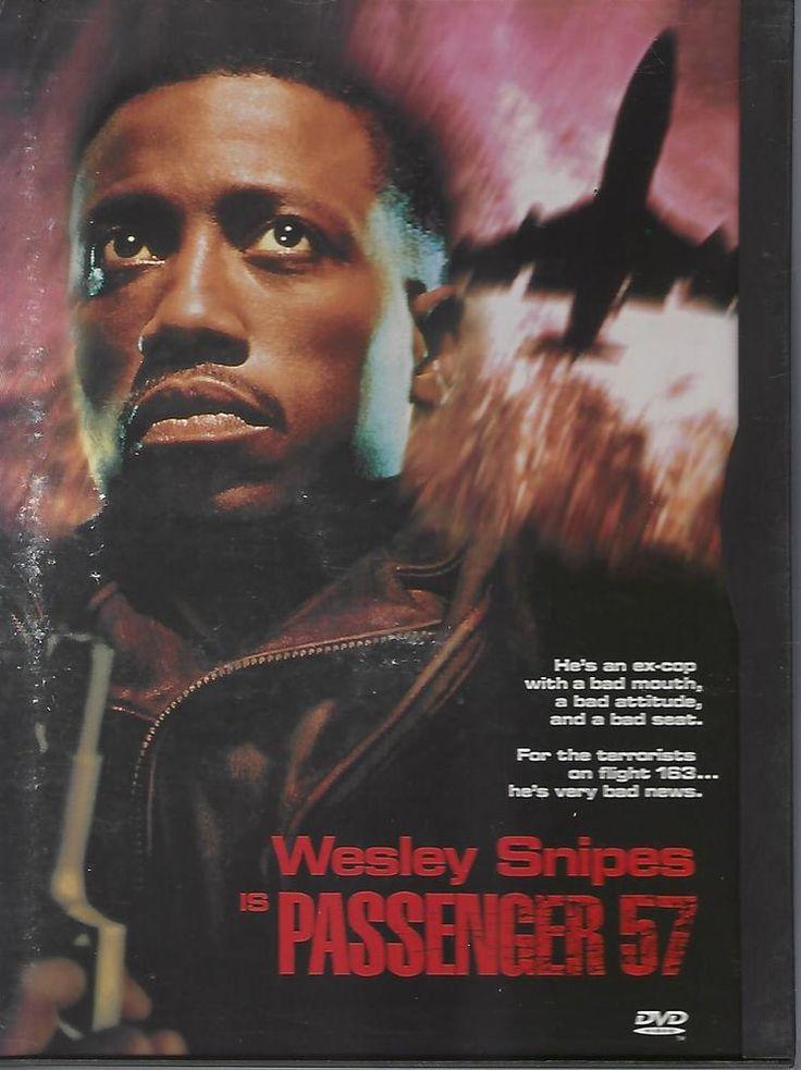 Passenger 57 (DVD, 1998)   Wesley Snipes Director: Kevin Hooks