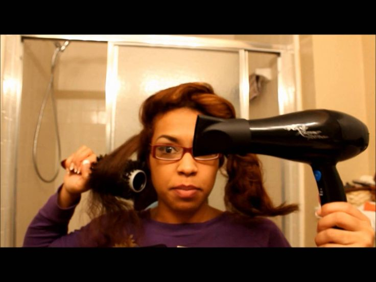 Dominican Hair Style: Dominican Blowout Inspired Look!--uses The Wrap Around The
