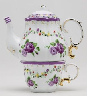 This looks like you, momma! <3   Porcelain Tea for One Set------------really like this!
