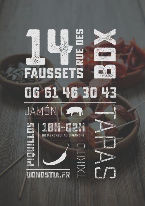 TAPAS GASTRONOMIQUES - 14, RUE DES FAUSSETS - BORDEAUX