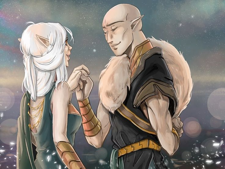 Dragon Age Inquisition: Solavellan - Last dance by RedViolett.deviantart.com on @DeviantArt