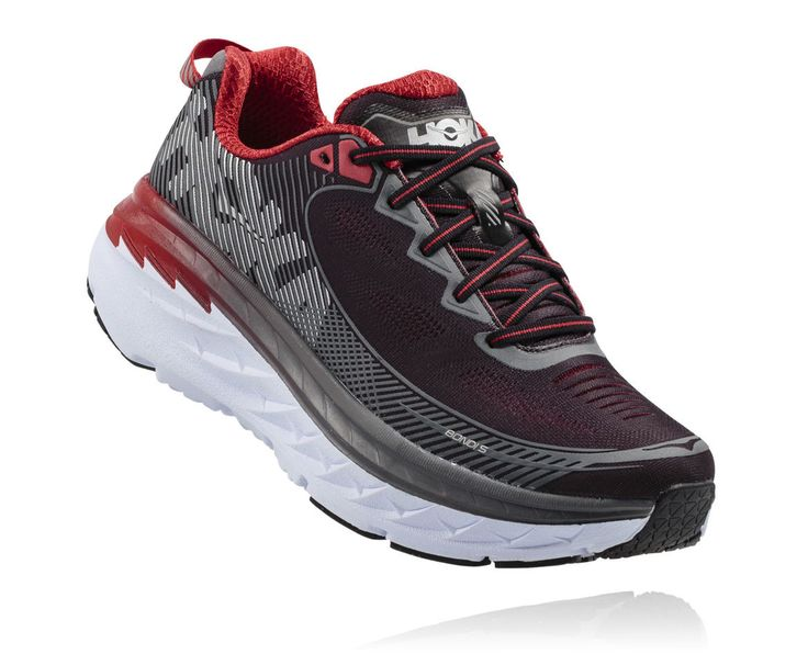 Men's Bondi 5 Running ShoesBlack - Formula One