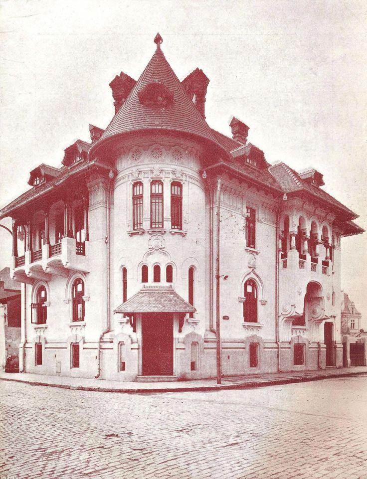 un reper neoromânesc pe str. Aurel Vlaicu(colț cu str.Alexandru Philippide) | Arhitect St. Ciortan, anii '20.